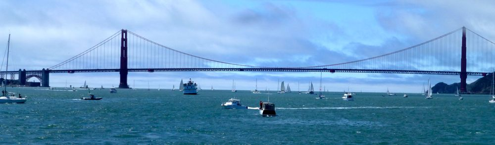 The Golden Gate Bridge @ America's Cup 2013 San Francisco