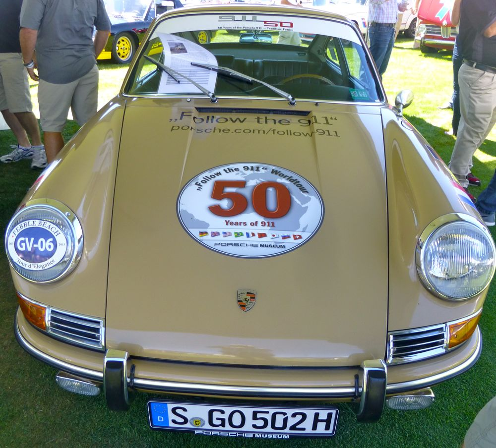 50 years of the 911 Porsche- Follow the 911 world tour