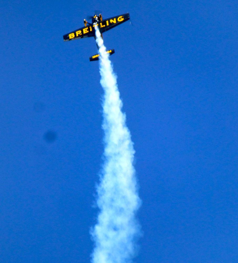 Aerobatic World Champion at the Reno Air Races