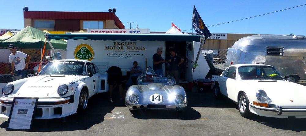 English Motorworks @ Laguna Seca for 2013 Monterey Historics