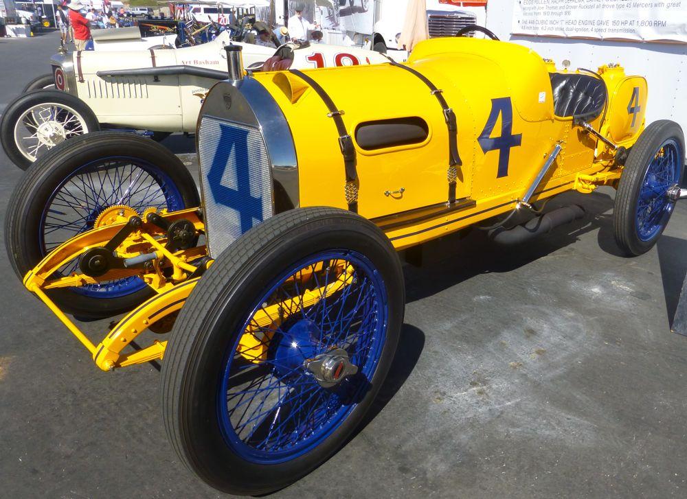 Type 24 Mercer 1st American car to win American Grandprix 1914