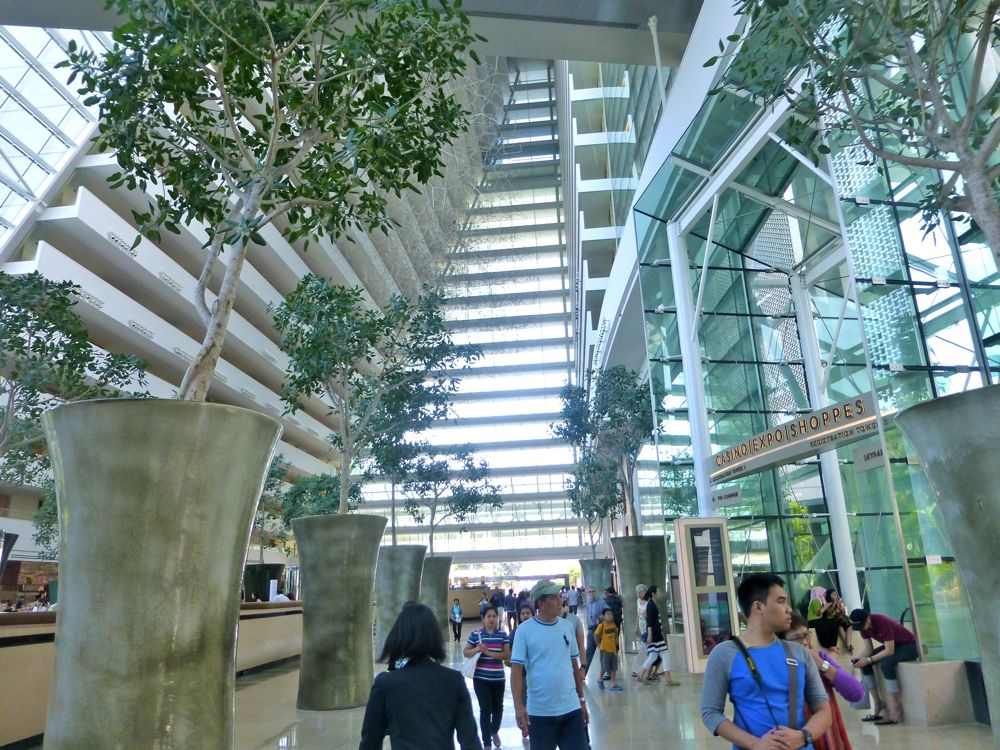 Lobby of Marina Bay Sands Singapore