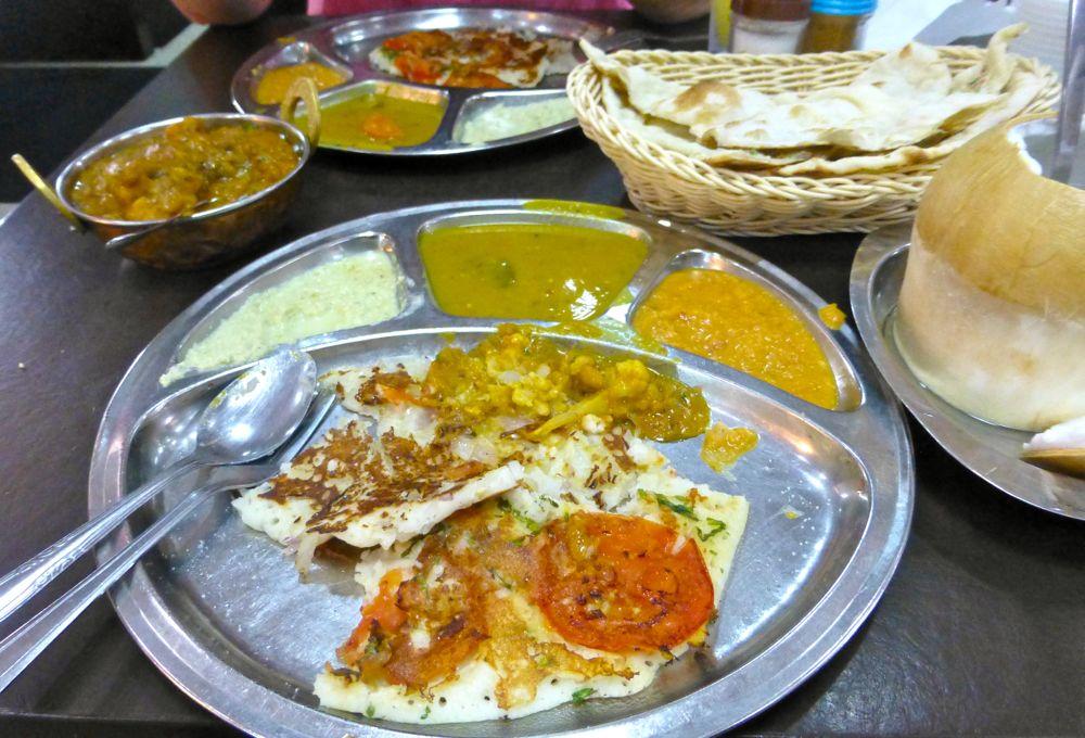 Lunch at Little India's famous Komala Vilas, Singapore
