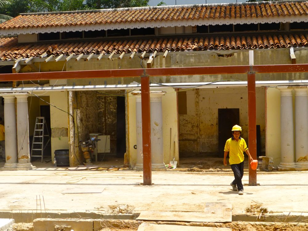 Restoration at the Chimes, Singapore