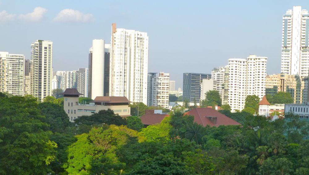 Singapore's sleek skycrapers