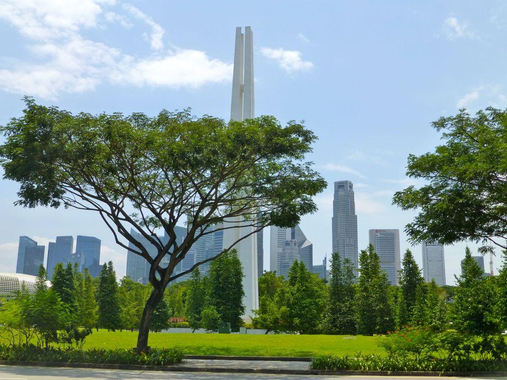 Modern 21st century Singapore
