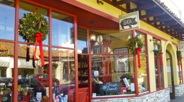 Luca Restaurant, Carmel-by-the-Sea at Christmas