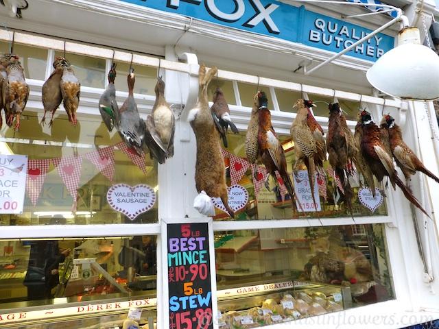 The butchers, Malton, North Yorkshire, UK