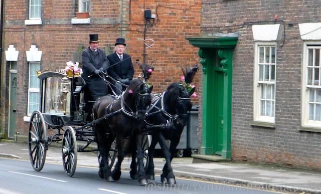 Funeral Procession, Malton, Yorkshire, UK
