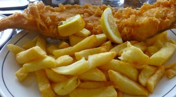 Magpie Cafe fish and chips, Whitby, North Yorkshire