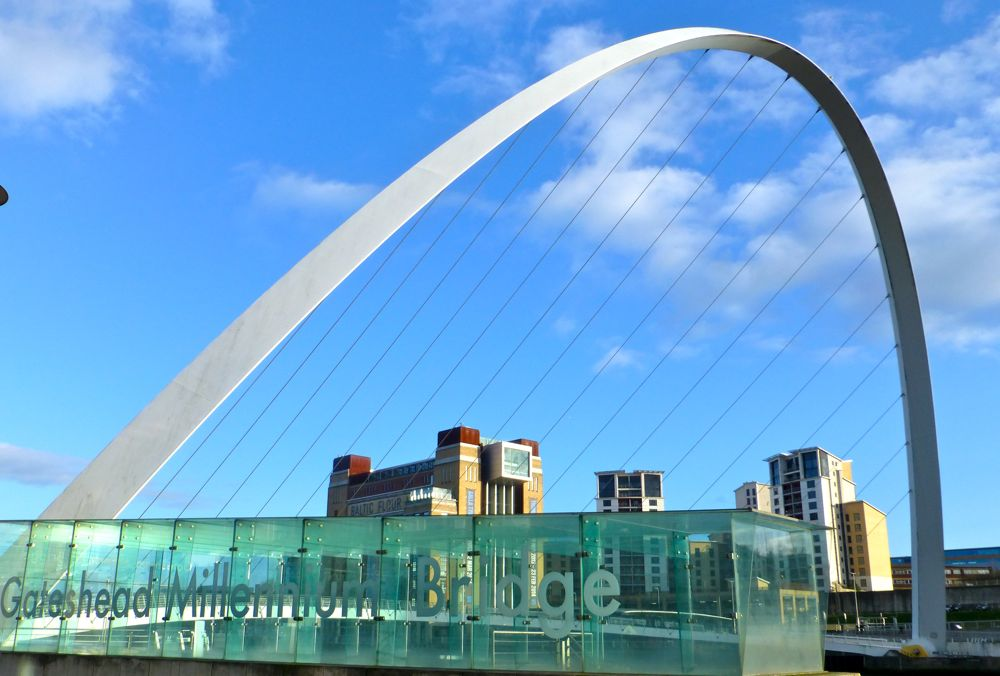Millenium Bridge, Quayside, Newcastle