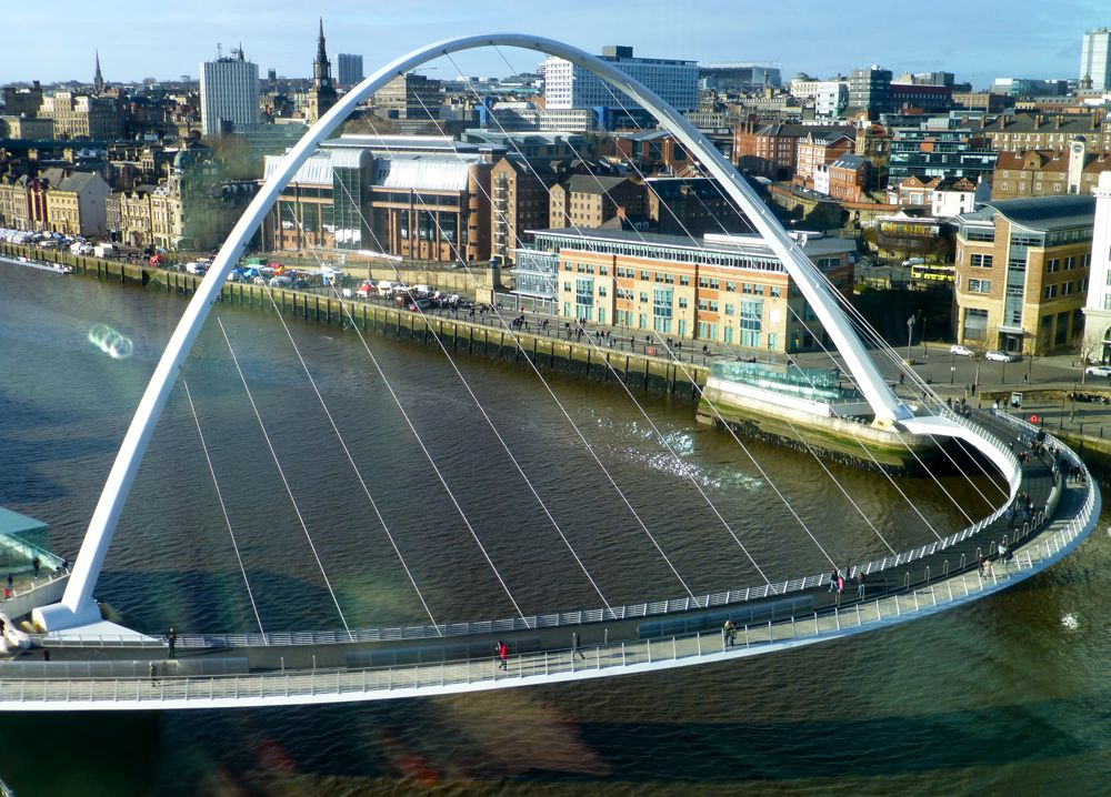 Newcastle's Millenium Bridge