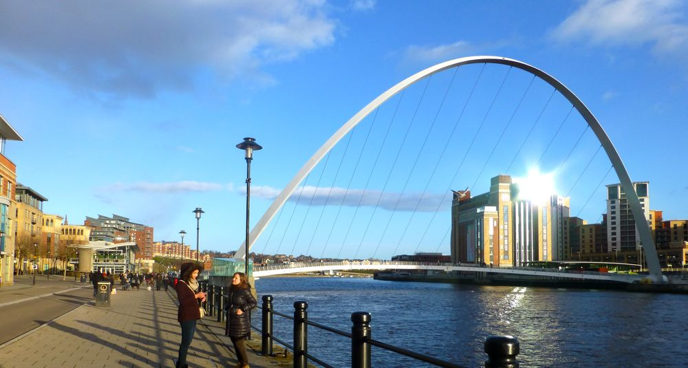The Millenium Bridge, Newcastle
