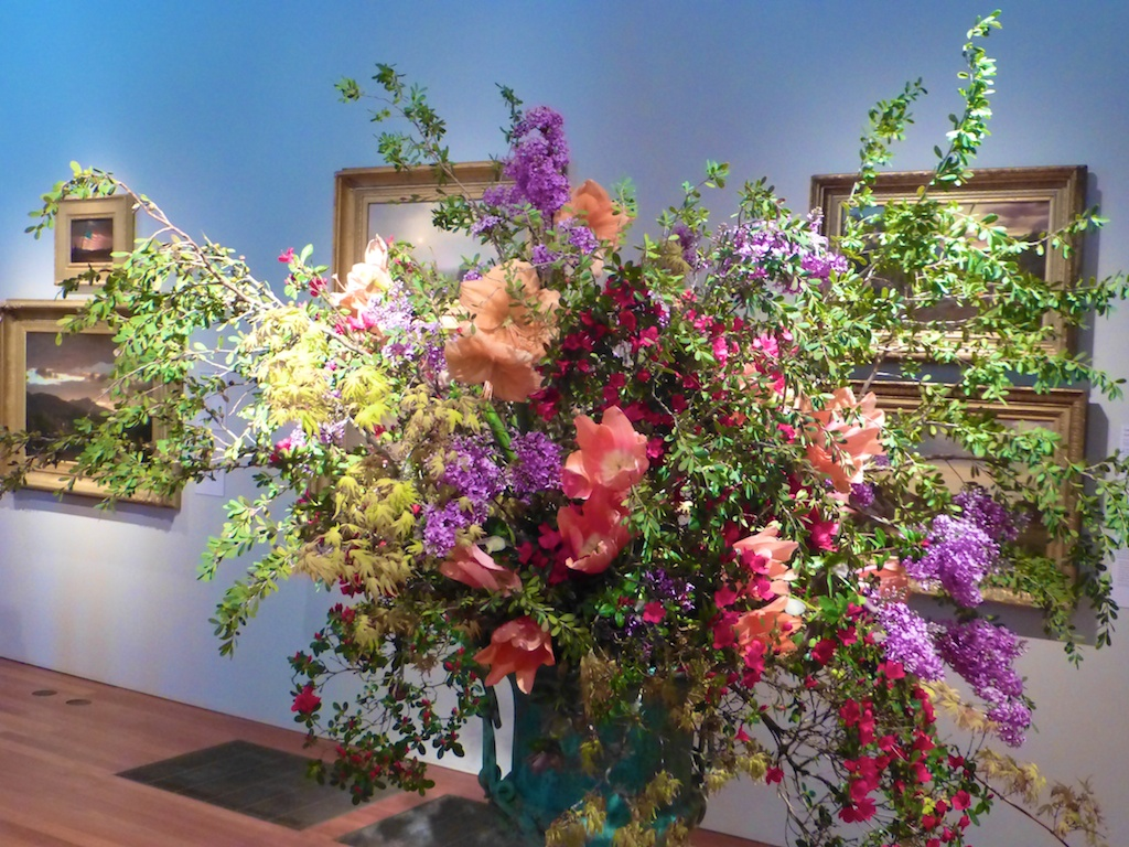 Bouquets to Art, a view