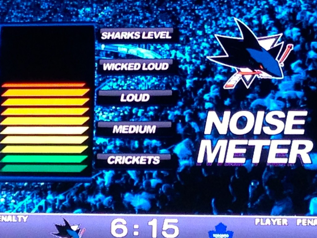 Make Noise at the San Jose Sharks game against the Toronto Maple Leafs