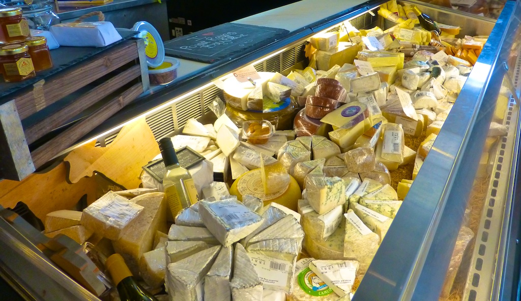Cheese at Napa's Oakville grocery