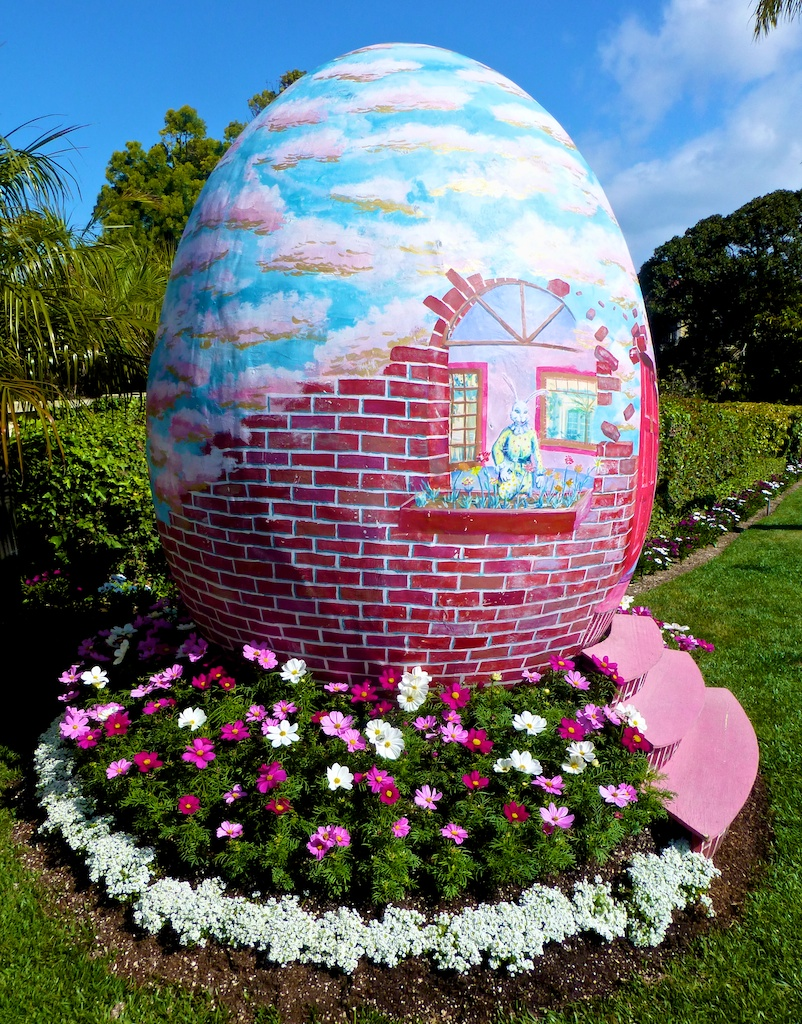 Easter Egg at the Ritz Carlton, Dana Point, California