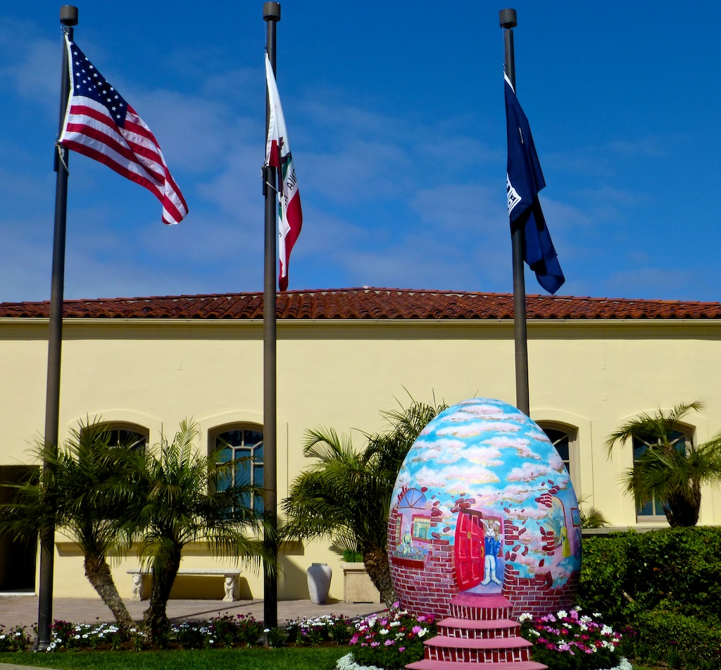 Easter eggs at The Ritz Carlton, Dana point