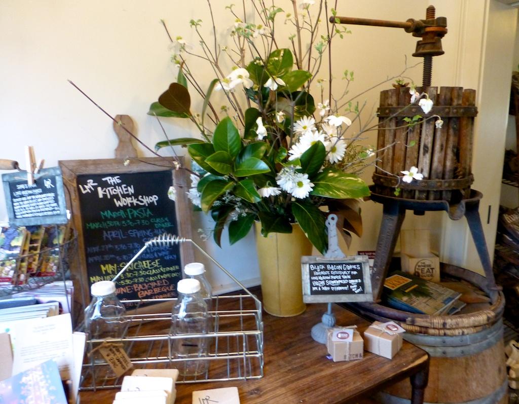 Inside Long Meadow Ranch Shop, Napa