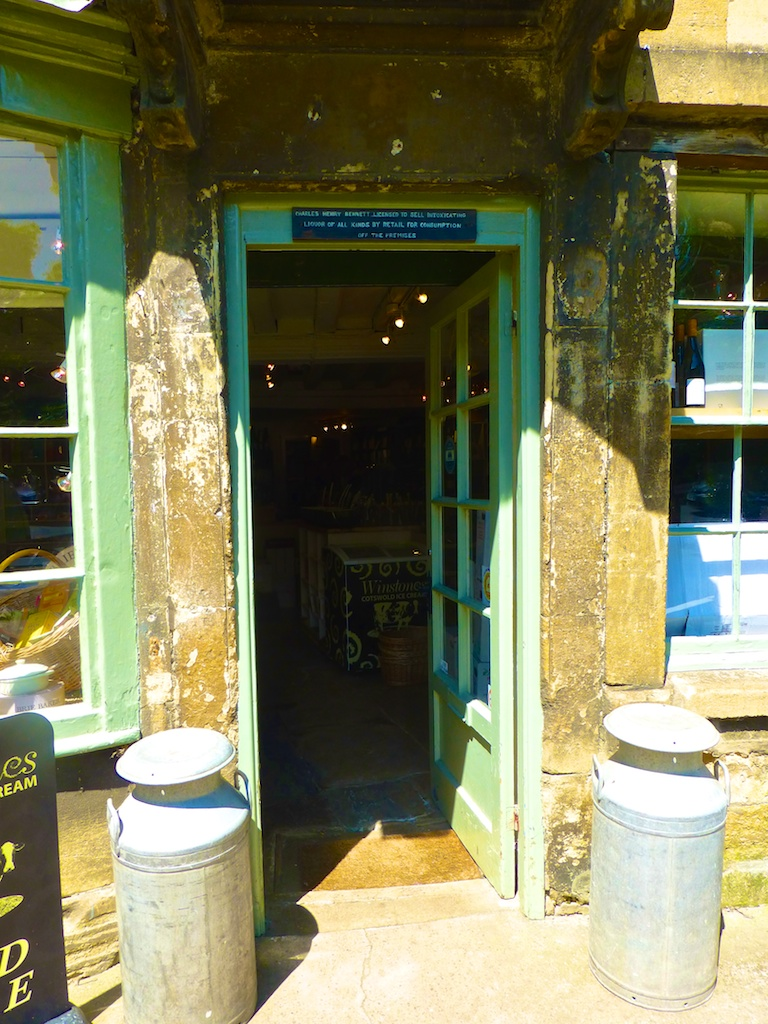 Cotswolds Cheese shop in Chipping Campden, England