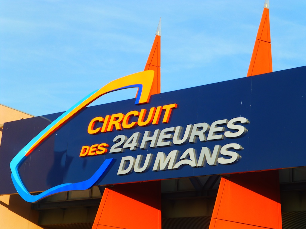 Entrance to Le Mans Circuit, 2014