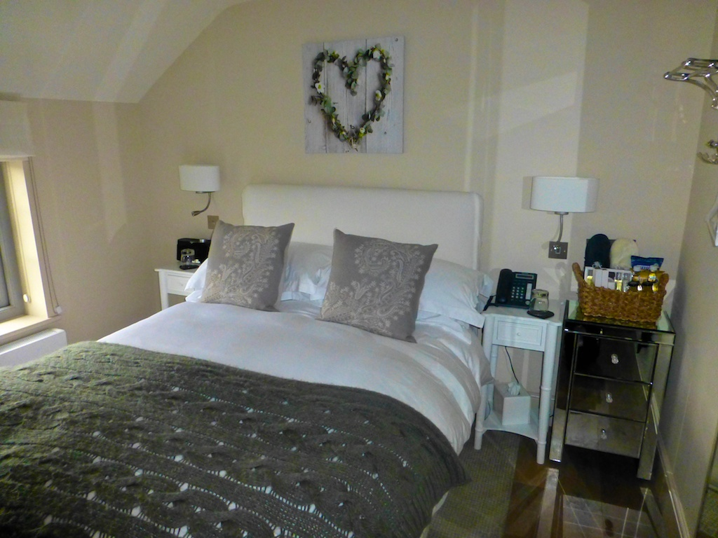 Our room at Fuzzy Duck,The Cotswolds, Gloucestershire, England
