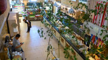 The Deli at Daylesford Barns in the Cotswolds