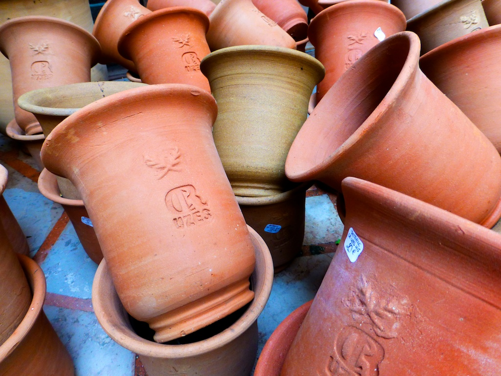 Pots of Uze, Uzes, Languedoc Rousillon, France