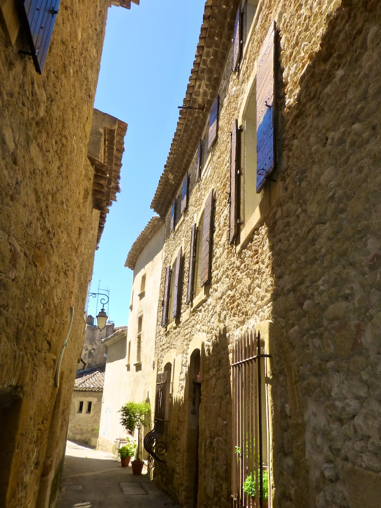 Streets of Lourmarin, the Luberon, Provence, France