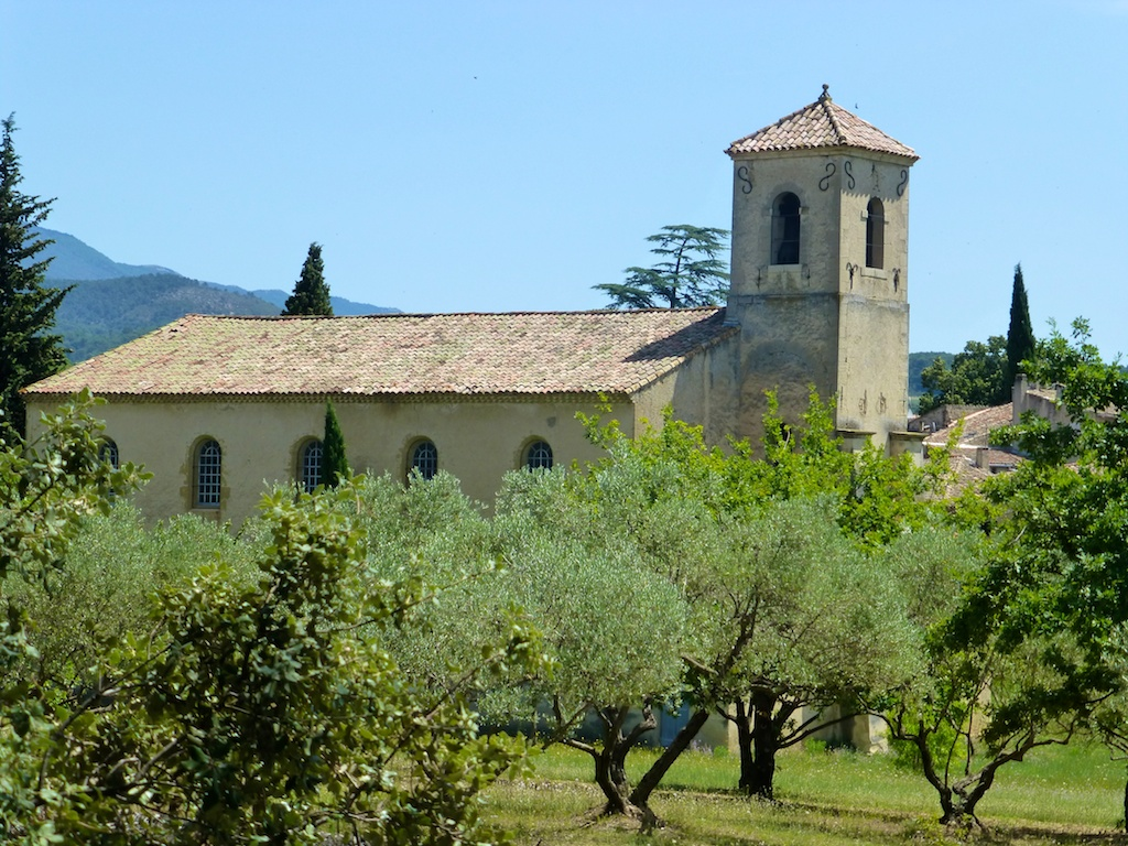 The church in Lourmarin, the Vaucluse, France