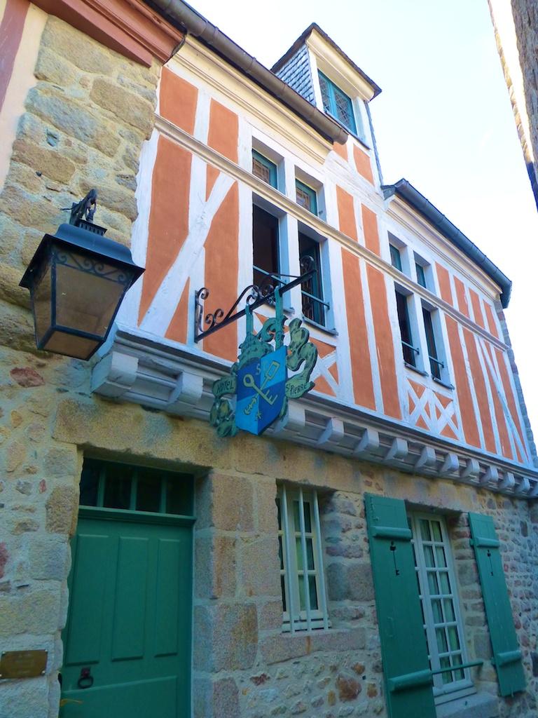 Hotel at Mont Saint Michel, France