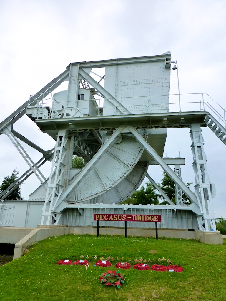 The original Pegasus Bridge Memorial