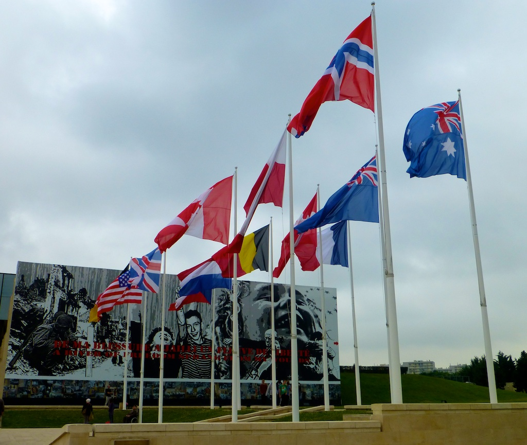 World War II Memorial Museum at Caen