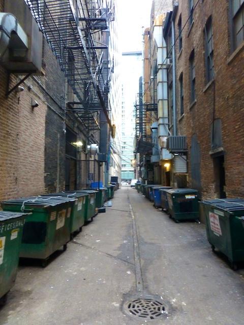 Chicago alley ways
