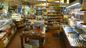 In Market Hall, Rockridge, Gourmet Grocery store, Oakland, California