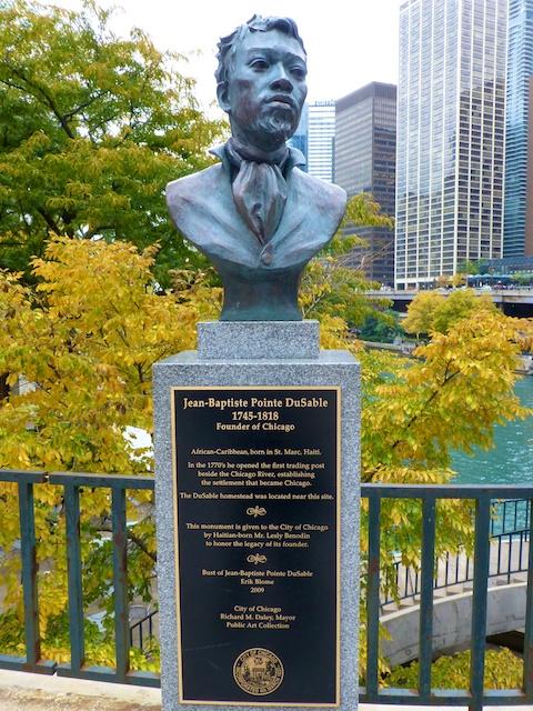 Jean Baptiste Point du Sable, founder of Chicago