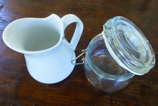 Jugs & jars to serve in