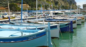 Cassis harbour, Provence, France