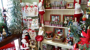 Christmas shopping at Prescence gift shop in Danville