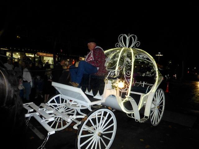 Fairy tale pumpkin carriage. Danville CA USA