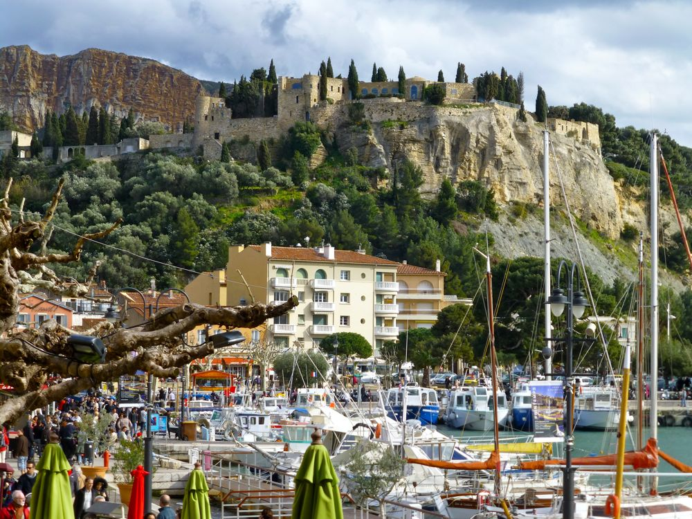 Cassis, on the Mediterranean, France