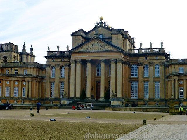Outside Blenheim Palace, Woodstock, England