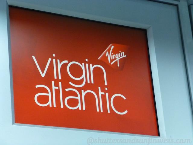 Virgin Atlantic check in desk at SFO International Airport