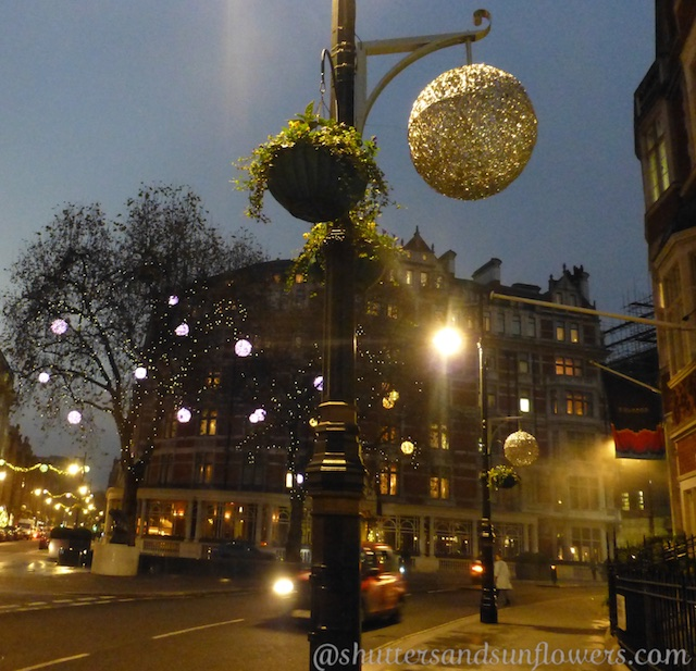 Christmas 2014, lights of Mayfair London