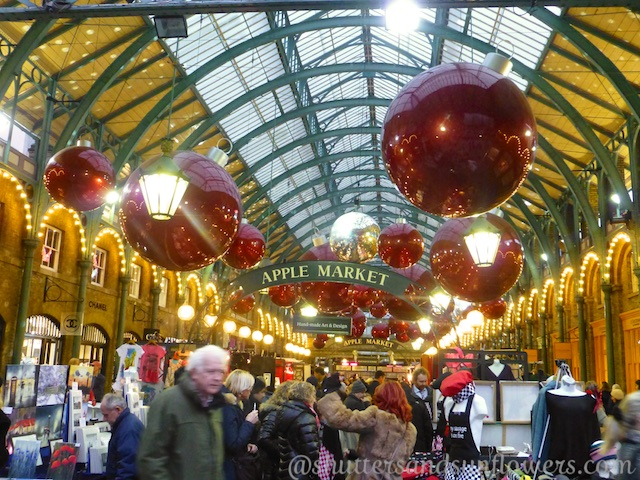 The Apple Market at Covent Garden, London, England