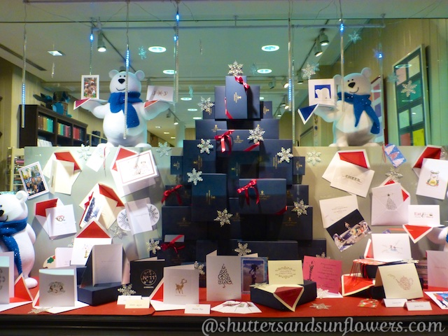 London Stationers at Christmas