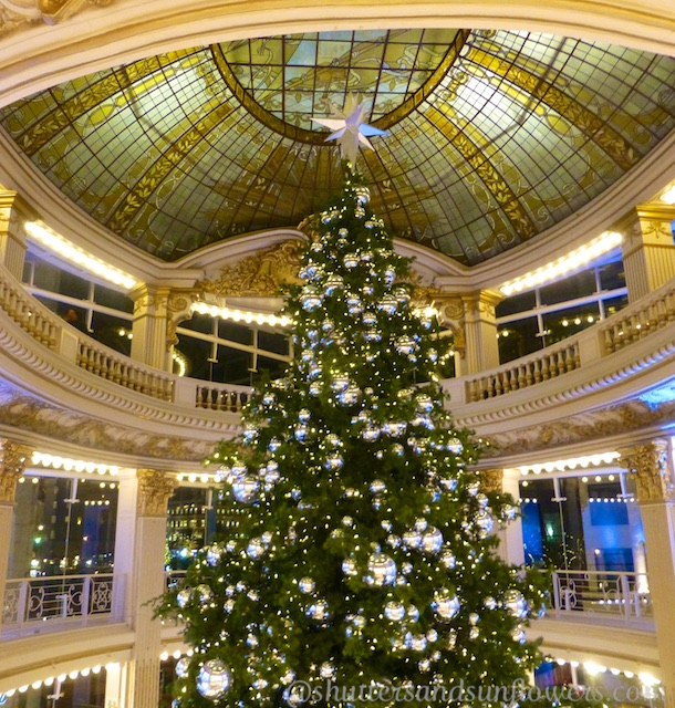 Neiman Marcus Christmas tree in Union Square, San Francisco