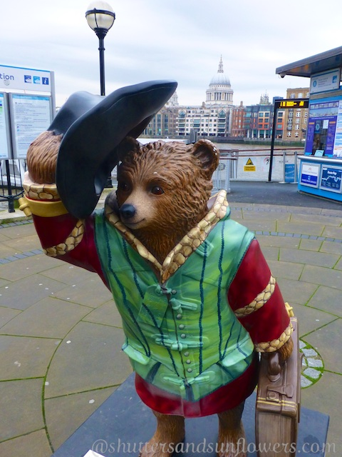 Paddington Bear on the Southbank, London, England