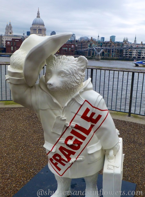 Another Paddington Bear on the Southbank, London, England