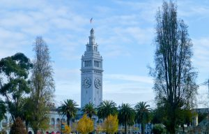 San Francisco's Ferry Building at Christmas